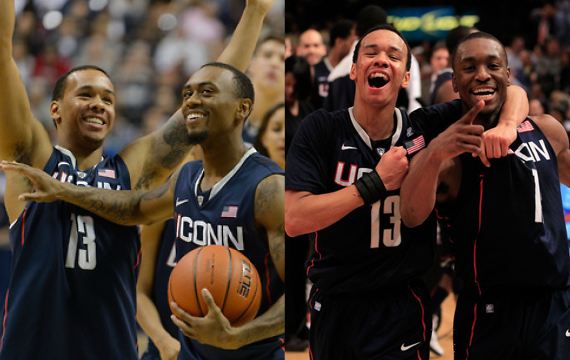 Peter Morenus/UConn Photo | Chris Trotman/Getty Images