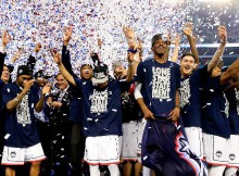 The 2014 NCAA National Champion UConn Huskies
